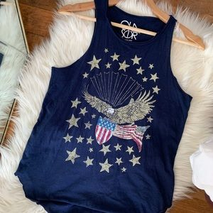Chaser American eagle muscle tee